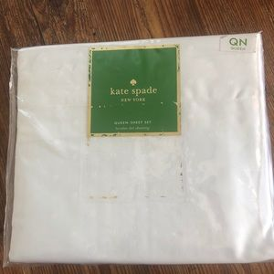 Kate spade queen Sheets new in box